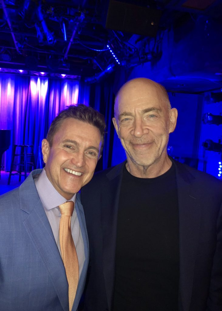 With J.K. Simmons