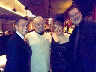 With Stephen Sondheim, KT Sullivan and Jon Weber