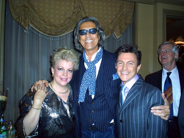 With Tommy Tune and KT Sullivan