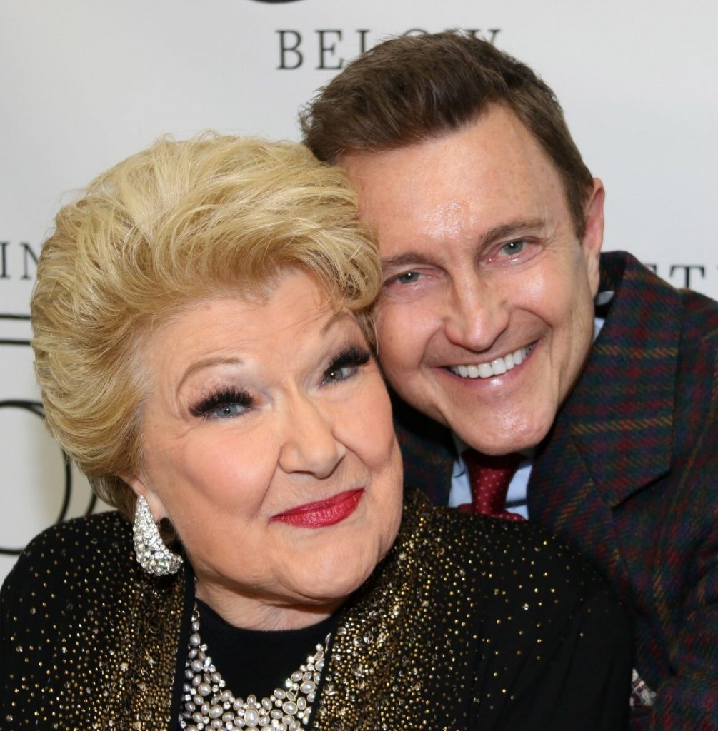 With Marilyn Maye